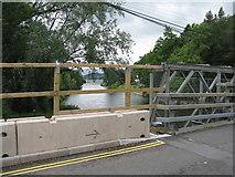 NY4724 : Bailey Bridge at Pooley Bridge by M J Richardson