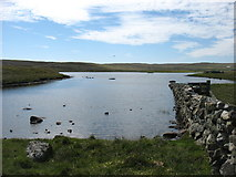 HU5765 : Loch Vats-houll, Whalsay by David Purchase