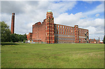 SJ6699 : Butts Mill, Leigh by Chris Allen