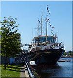 NT2677 : Royal Yacht Britannia by Mat Fascione