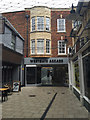 TL1998 : Southern entrance to the Westgate Arcade, Peterborough by Robin Stott