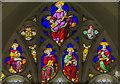 TF8541 : East window tracery, All Saints' church,  by Julian P Guffogg