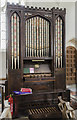 TF8541 : Organ, All Saints' church, Burnham Thorpe by Julian P Guffogg