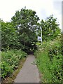 SJ8990 : Footpath towards Penny Lane by Gerald England