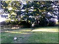 SZ0795 : East Howe: leaving Brook Road on footpath E34 by Chris Downer