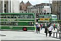 SK5739 : Trolleybus 506 in the Old Market Square – 2 by Alan Murray-Rust