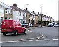 ST3487 : Royal Mail van on a Liswerry corner, Newport by Jaggery