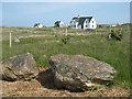 NF7369 : Houses at Druim Dubh by M J Richardson
