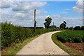 SE4852 : Access Lane to Marston Grange by Chris Heaton