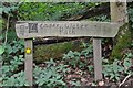 NT5737 : Leader Water Path sign by Jim Barton