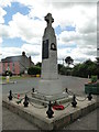 TF9100 : Watton War Memorial by Adrian S Pye
