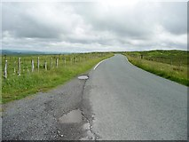 SN8494 : The mountain road from Machynlleth to Llanidloes by Christine Johnstone