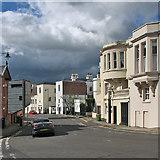 SK5639 : Dark clouds over The Ropewalk by John Sutton