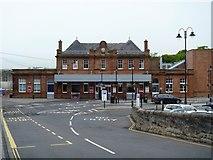 NT9953 : Railway station [1] by Michael Dibb