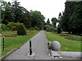 SO0407 : Path through Cyfarthfa Park, Merthyr Tydfil by Jaggery