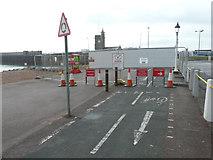 TR3140 : Closure of footpath and cycleway on Esplanade by John Baker