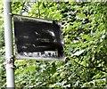 SJ8990 : Vandalised artwork by Gerald England