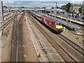 TL1898 : Southbound Virgin train through Peterborough  by Stephen Craven