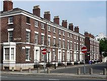 SJ3589 : 34-50 Percy Street, Liverpool by Stephen Richards