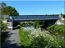NT2270 : Footbridge crossing the Union Canal by Mat Fascione