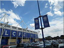 SK5802 : King Power Stadium, Leicester by Stephen Sweeney