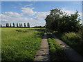 TL4158 : Permissive bridleway by Hugh Venables