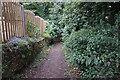SE5116 : Footpath off Main Street, Kirk Smeaton by Ian S