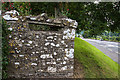 N9673 : Defending neutral Ireland in WWII: Boyne defences - Fennor Cross Roads loopholed wall (1) by Mike Searle