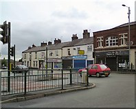SJ9594 : Junction of Dowson Road and Market Street by Gerald England