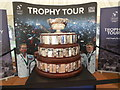 TQ1502 : Davis Cup Trophy Tour. Worthing by Paul Gillett
