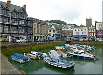 SX8751 : Dartmouth's Inner Harbour by Mary and Angus Hogg