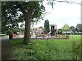 SK5238 : Children's playground, Lenton Abbey by JThomas
