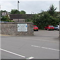 ST5393 : Entrance to Station Road car park, Chepstow by Jaggery