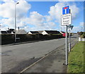 SM9310 : No Through Road sign (except cycles) sign, Bulford Road, Johnston by Jaggery