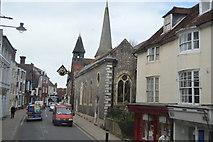 TQ4110 : Church of St Michael in Lewes by N Chadwick