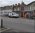 ST3089 : JCDecaux operative, van and bus shelter, Crindau, Newport by Jaggery