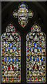 TF8044 : Medieval stained glass, St Mary's church, Burnham Deepdale by Julian P Guffogg