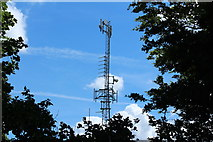 NX4355 : Radio Mast on Kirkland Hill by Billy McCrorie