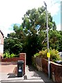 SZ0790 : Westbourne: footpath A07 from Rosemount Road by Chris Downer