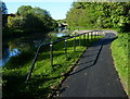 NT0872 : Towpath along the Union Canal near Broxburn by Mat Fascione