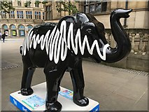 SK3587 : Herd of Sheffield: AM Elephant by Graham Hogg