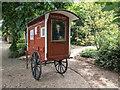 TQ2777 : Ornamental Caravan, Chelsea Physic Garden, Royal Hospital Road, London by Christine Matthews