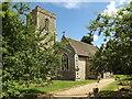 TM0178 : St.Nicholas Church, Thelnetham by Adrian Cable