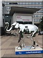 SK3587 : Herd of Sheffield: Steel Elephant by Graham Hogg
