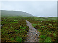 NN2156 : The West Highland Way above Altnafeadh by John Allan