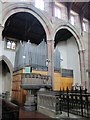NZ2364 : The Church of St. Matthew, Big Lamp, Summerhill Street, NE4 - organ by Mike Quinn