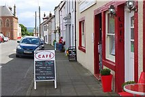 NX4355 : Cafes in Wigtown by Jim Barton