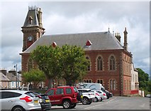 NX4355 : Town Hall, Wigtown by Jim Barton