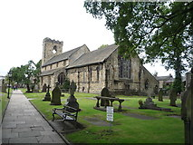 SD7336 : Church of St Mary and All Saints, Whalley by JThomas