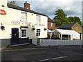 "TQ6159 : ""Rose & Crown"" PH entrance on St Marys Road by Shazz"